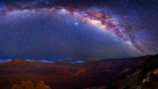 The magnificent Milky Way (Source: Wally Pacholka, National Geographic)